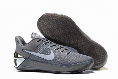 Nike Kobe AD 12 Air Cushion Shoes Charcoal Grey White