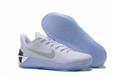Nike Kobe AD 12 Air Cushion Shoes Special Edition White Silver