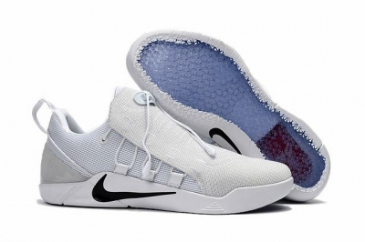 Nike Kobe AD 12 Shoes Woven Surface Blissard White Black