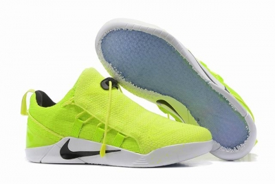 Nike Kobe AD 12 Shoes Woven Surface Fluorescent Green