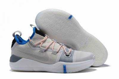 Nike Kobe AD EP Shoes Grey Light Blue